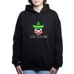 Feliz Navidad Women's Hooded Sweatshirt