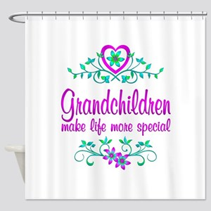 Special Grandchildren Shower Curtain