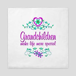 Special Grandchildren Queen Duvet