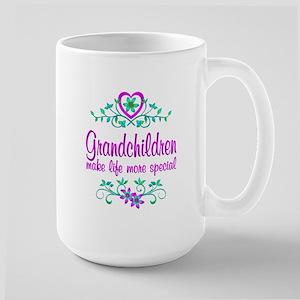 Special Grandchildren Large Mug
