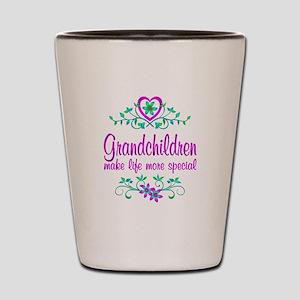 Special Grandchildren Shot Glass