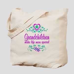 Special Grandchildren Tote Bag
