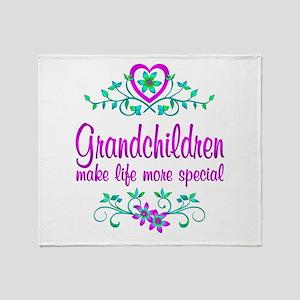 Special Grandchildren Throw Blanket