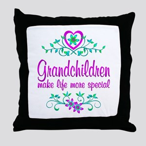 Special Grandchildren Throw Pillow