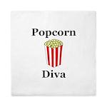 Popcorn Diva Queen Duvet