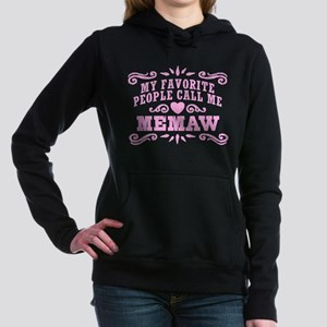Funny MeMaw Women's Hooded Sweatshirt