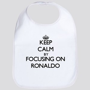 Keep Calm by focusing on on Ronaldo Bib