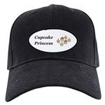 Cupcake Princess Black Cap
