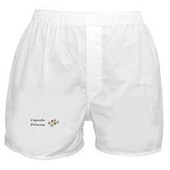 Cupcake Princess Boxer Shorts