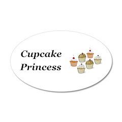 Cupcake Princess Wall Decal