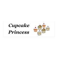 Cupcake Princess Wall Decal