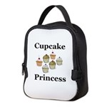 Cupcake Princess Neoprene Lunch Bag