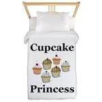 Cupcake Princess Twin Duvet