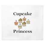 Cupcake Princess King Duvet