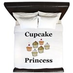 Cupcake Princess King Duvet
