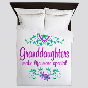 Special Granddaughter Queen Duvet