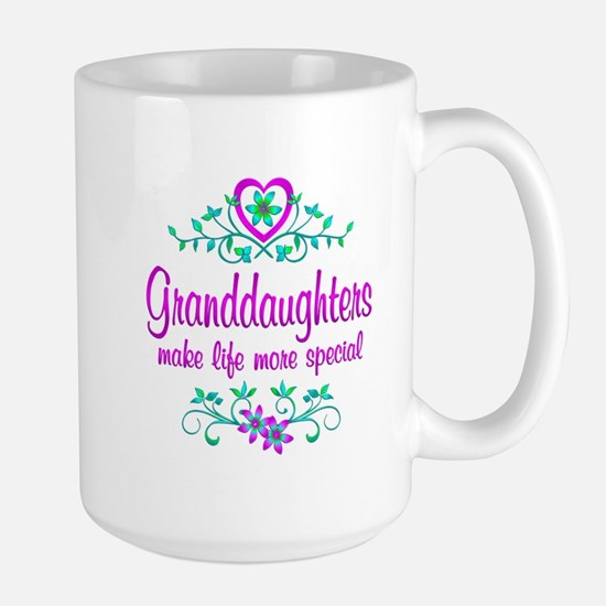 Special Granddaughter Large Mug
