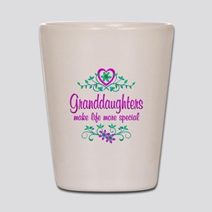 Special Granddaughter Shot Glass