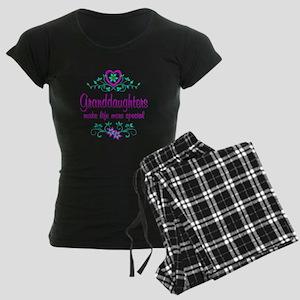 Special Granddaughter Women's Dark Pajamas