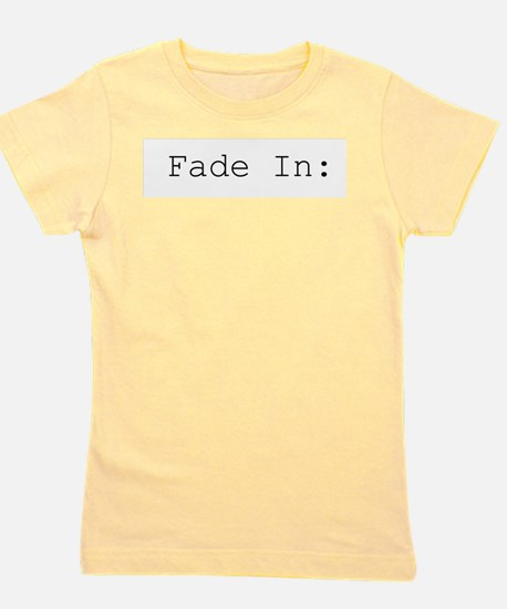 fade in.png Girl's Tee