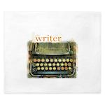 typewriterwriter King Duvet