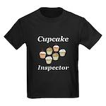 Cupcake Inspector Kids Dark T-Shirt
