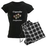 Cupcake Inspector Women's Dark Pajamas