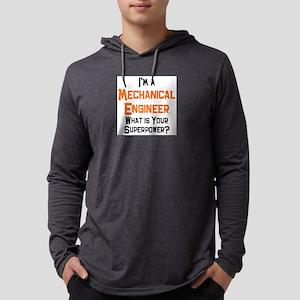 mechanical engineer Mens Hooded Shirt