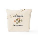 Cupcake Inspector Tote Bag