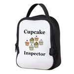 Cupcake Inspector Neoprene Lunch Bag