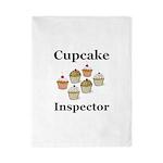 Cupcake Inspector Twin Duvet