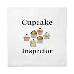 Cupcake Inspector Queen Duvet
