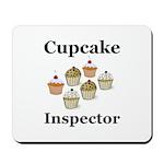 Cupcake Inspector Mousepad