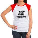 KnowWhereYouLive Women's Cap Sleeve T-Shirt