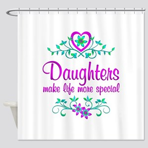 Special Daughter Shower Curtain
