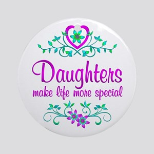 Special Daughter Ornament (Round)