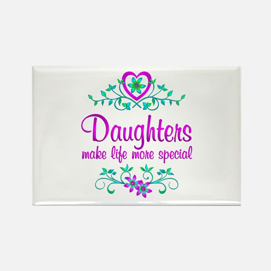 Special Daughter Rectangle Magnet