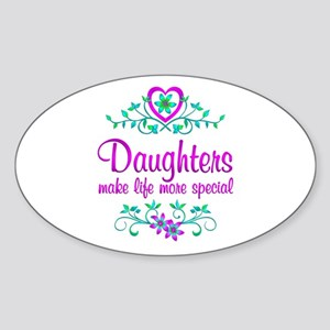 Special Daughter Sticker (Oval)