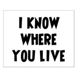 KnowWhereYouLive Small Poster