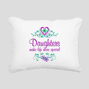 Special Daughter Rectangular Canvas Pillow