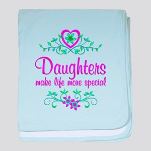 Special Daughter baby blanket