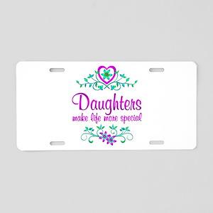 Special Daughter Aluminum License Plate