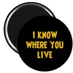 KnowWhereYouLive Magnet