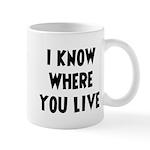 KnowWhereYouLive Mug