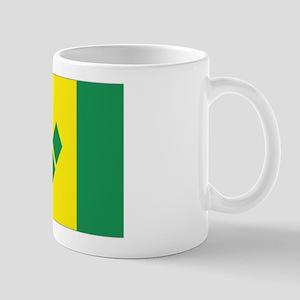 St Vincent & The Grenadines Nal flag Mug