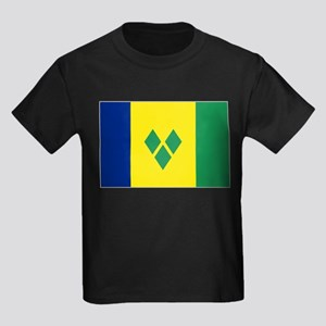 St Vincent & The Grenadines Nal Kids Dark T-Shirt