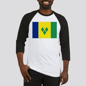 St Vincent & The Grenadines Nal fl Baseball Jersey