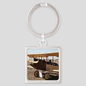 Curtiss Jenny Biplane Aircraft Keychains