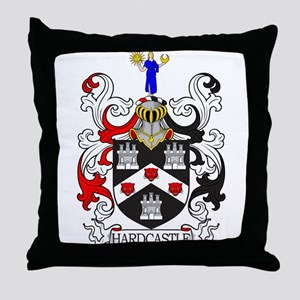 Hardcastle Coat of Arms I Throw Pillow