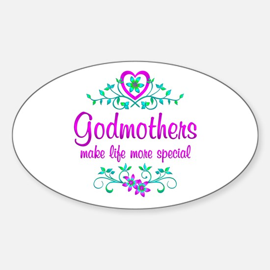 Special Godmother Sticker (Oval)